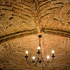 Visit a rustic 15th century medieval Rostock restaurant with a brick domed ceiling