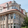 Architecture in Hanseatic Rostock, Germany