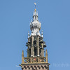 The historic 16th century tower and bells of The Great Church Our Dear Lady Edam North