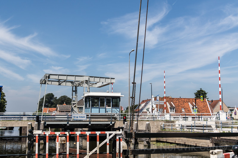 Edam is famous for its cheese and 17th century architecture