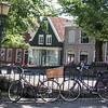 Flowers and canals, Edam is famous for its cheese and 17th century architecture