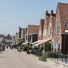 waterfront walk -  The historic streets of the charming town of Volendam in the Dutch countryside
