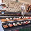 The food on the waterfront , historic streets of the charming town of Volendam in the Dutch countryside