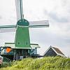 Historic Dutch windmill the 1867 De Gekroonde Poelenburg is an industrial sawmill