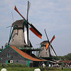Visit historic Zaanse Schans windmills in the Dutch countryside
