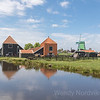 Visit historic Zaanse Schans in the Dutch countryside