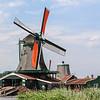 Visit historic Zaanse Schans windmills in the Dutch countryside