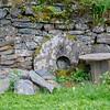 Visit Norway's oldest industrial community Alvøen museum near Bergen - A stone mill wheel