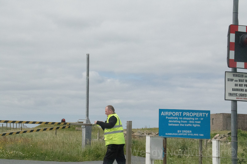 Tingwall airport, Sheltand Island