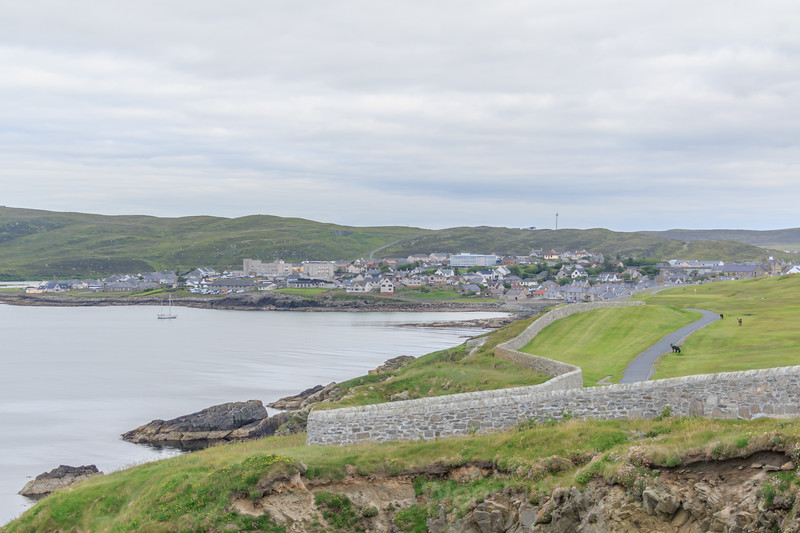 Discover Lerwick harbour and the rugged Shetland Islands