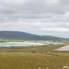Tingwall Airport on the rugged Shetland Islands