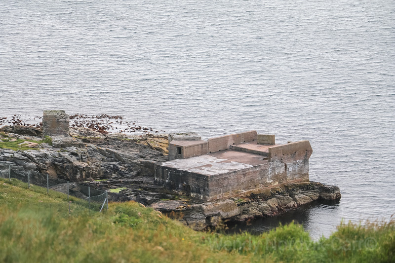First World War gun enplacements - Discover Lerwick harbour and the rugged Shetland Islands