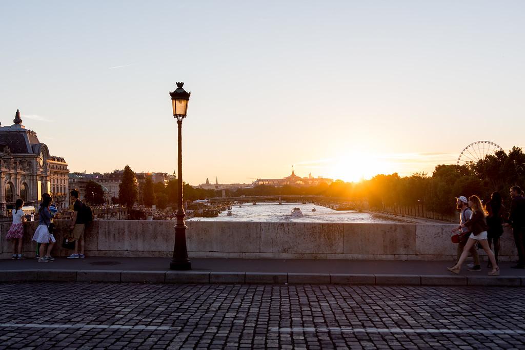 Paris sure is pretty
