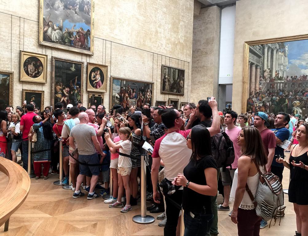 Mona Lisa's view
