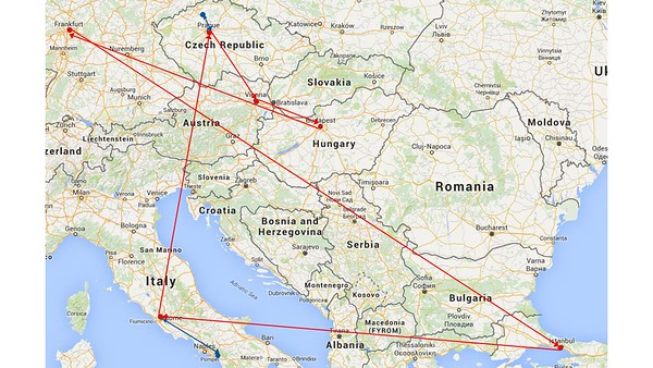 Eastern Europe Trip Overview