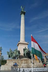 Pillar in Hero's Square