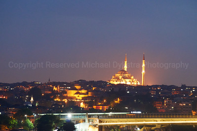 Bright mosque