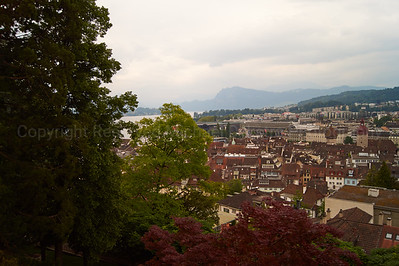View from Atop a Castle