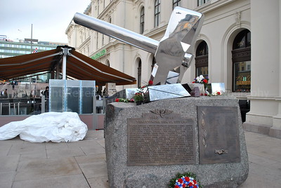 Hammer Statue