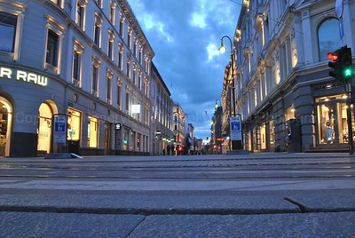Peaceful Streets of Oslo