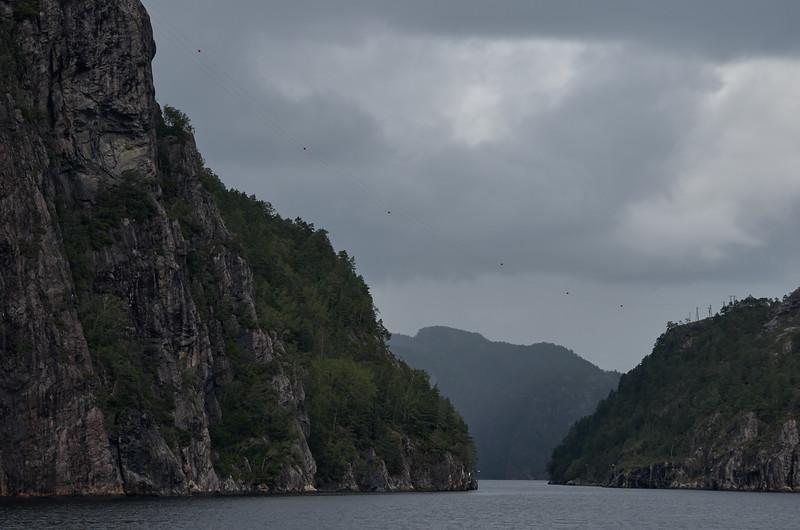 Fjord cliffs