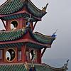 Pagoda, upper levels