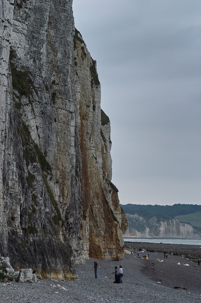 Cliff on a Gray Day