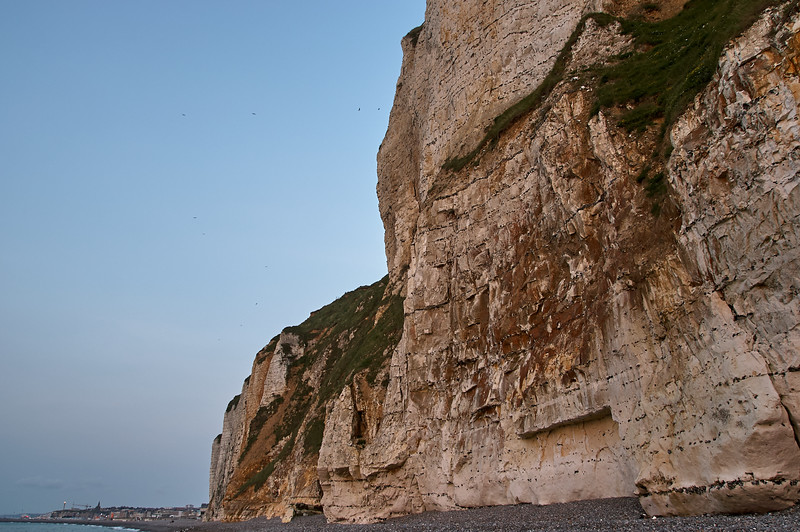 Last Light on the Cliffs