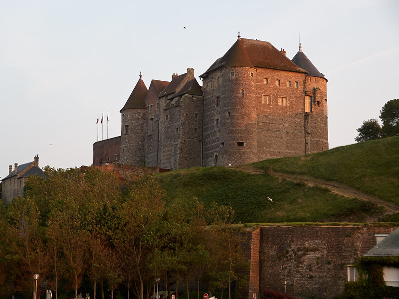 The Chateau at Sunset