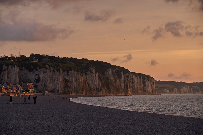 Cliff at Sunset
