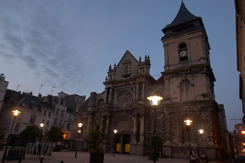 Église Saint-Jacques, Last Light