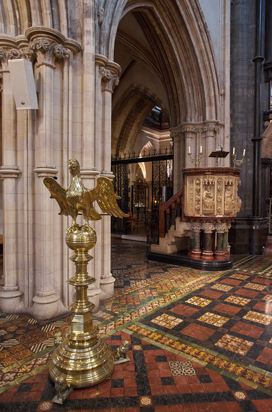 Pulpit and Lecturn, Christ Church Cathedral