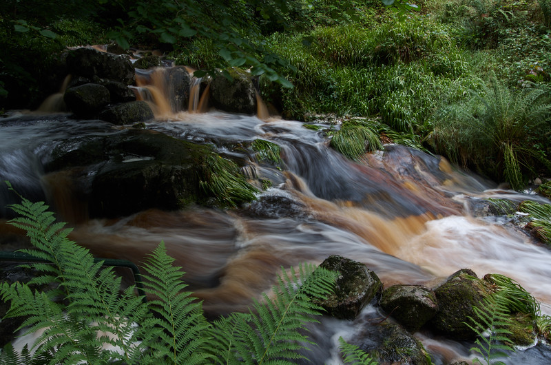 Waterfall on the Glencree River