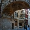 Arch under Le Gros Horloge