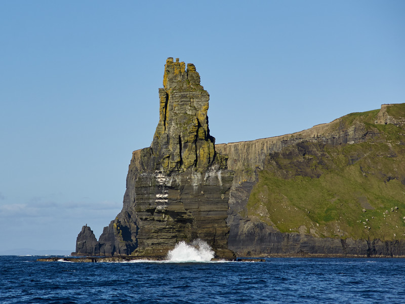Sea Stack at the Cliffs of MOher