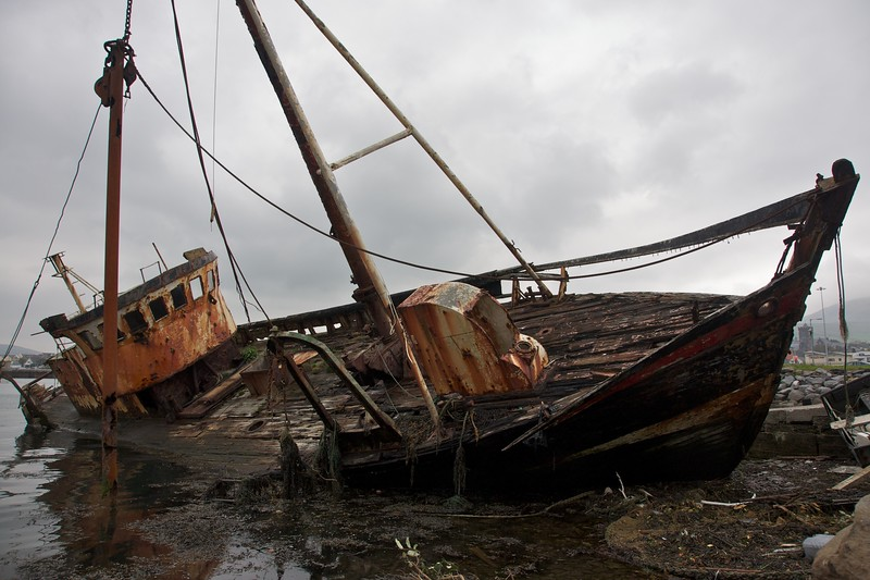 Wrecked Fishing Boat