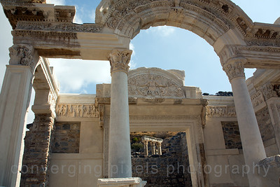 Kusadasi, Turkey:  The Ancient City of Ephesus