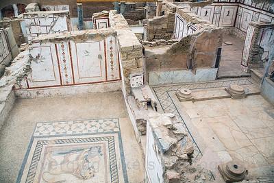 Kusadasi, Turkey:  The Ancient City of Ephesus