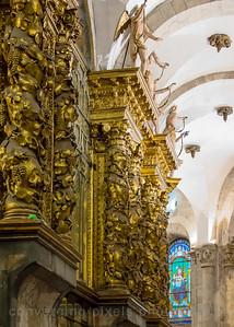 St. James Cathedral, Santiago de Compostela, Spain.