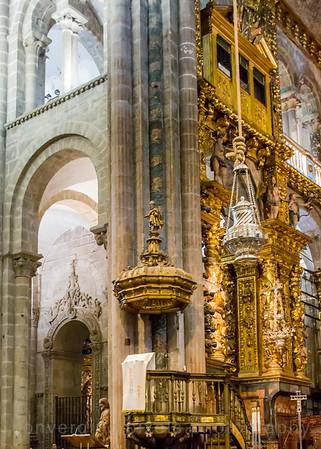 Santiago, Spain St. James Cathedral, Santiago de Compostela. St. James Cathedral