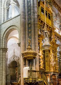 St. James Cathedral, Santiago de Compostela. St. James Cathedral