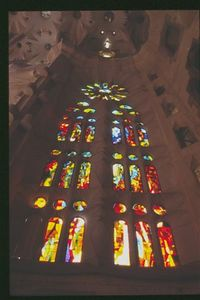 Sagrada Familia -- Interior window