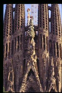 Sagrada Familia -- Nativity facade (2)