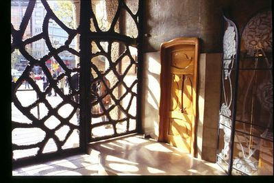 Inside the front door -- Casa Mila