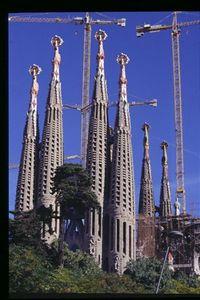 Sagrada Familia -- Passion facade