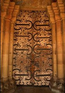 Front door, Maulbronn Monastery