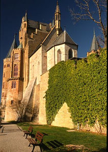 Hohenzollern castle interior