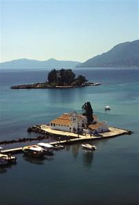 Monastery near Kanoni on Corfu (2)