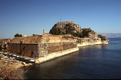 Old fortress in Corfu Town (2)
