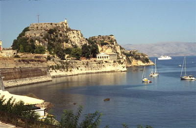Old fortress in Corfu Town (1)